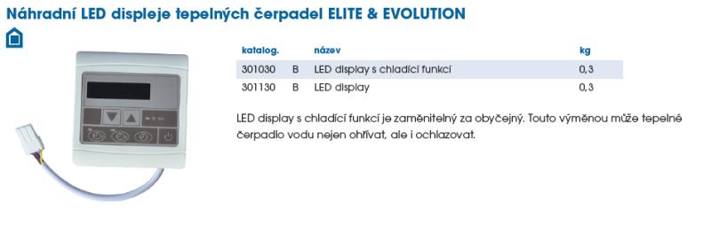 LED ovladač - chladící funkce